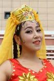 Uyghur dancer Royalty Free Stock Photo