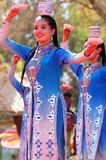 Uyghur dancers Royalty Free Stock Photos