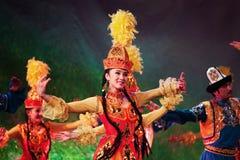 Uyghur dancers Royalty Free Stock Photos