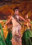 Uyghur dancers Royalty Free Stock Image