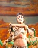 Uyghur dancers Royalty Free Stock Photo