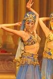 Uyghur dancers stock images