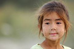 Uyghur girl Royalty Free Stock Photo