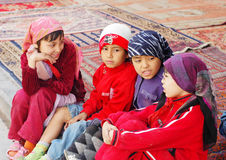 Uyghur girls Royalty Free Stock Image