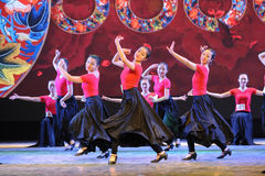 Uygur dance foundation-The national dance training Stock Images