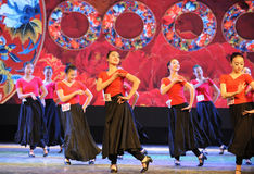 Uygur dance foundation-The national dance training Stock Photography
