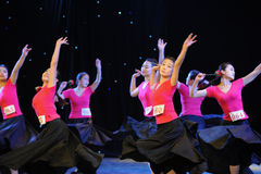 Uygur dance foundation-The national dance training Royalty Free Stock Photography