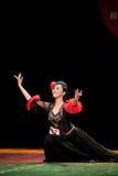 The Uygur girl--Chinese folk dance Stock Photos