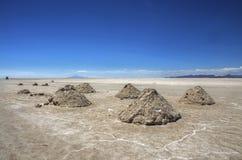 Uyuni αλατούχο Salar de Uyuni, Aitiplano, Βολιβία Στοκ Φωτογραφίες