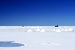 uyuni της Βολιβίας de s salar Στοκ εικόνες με δικαίωμα ελεύθερης χρήσης