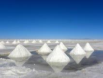 uyuni της Βολιβίας de salar Στοκ Φωτογραφίες