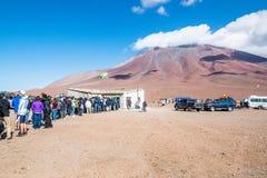 Uyuni, Bolívia Foto de Stock