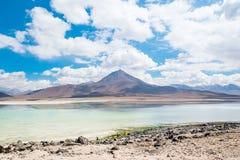 Uyuni, Bolivia. Green Lagoon laguna Verde,Uyuni, Bolivia Royalty Free Stock Photo