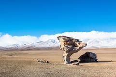Uyuni, Bolivia. Rock formation Arbol de Piedra in Uyuni, Bolivia Royalty Free Stock Photos