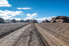 Uyuni, Bolivia. Rock formation Arbol de Piedra in Uyuni, Bolivia Stock Images