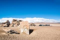 Uyuni, Bolivia. Rock formation Arbol de Piedra in Uyuni, Bolivia Stock Image
