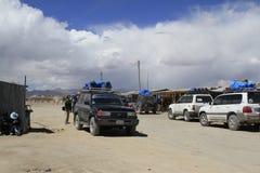Uyuni Bolivien Lizenzfreie Stockbilder