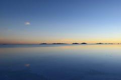 Uyuni reflection Stock Photo