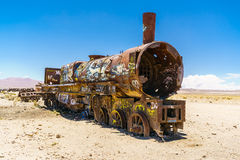 Uyuni Rusty Train Stockbild