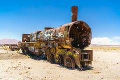 Uyuni Rusty Train Stock Image