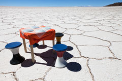 Uyuni salar Royalty Free Stock Photo