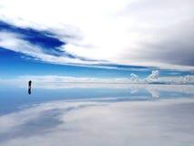 Uyuni Salt Flat Royalty Free Stock Photography