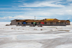 Uyuni, Salt flat in Bolivia Royalty Free Stock Image