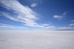 Uyuni salt flat Royalty Free Stock Photos