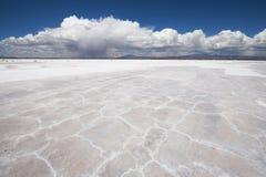 Uyuni Salt Flats Bolivia. Salt flats near Uyuni, Bolivia Stock Photo
