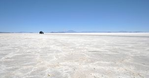 The Uyuni salt flats Stock Photo