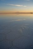 Uyuni salt lake Bolivia Royalty Free Stock Photos
