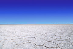 Uyuni salt lake Royalty Free Stock Images
