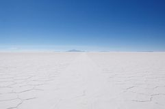 uyuni saltplanes Стоковое Изображение RF