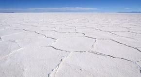 uyuni saltplanes Стоковые Изображения RF