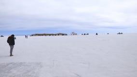 Uyuni-Salzwüste, Bolivien, Südamerika lizenzfreie stockfotografie