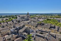 Uzès. This photo shows a part of Uzès, a city in the Gard department in southern France Stock Photo