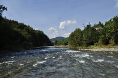 Uz-Fluss Lizenzfreies Stockfoto