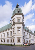 Uzadow Castle in Warsaw royalty free stock photography