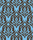 Uzbek Ancient Seamless Pattern Royalty Free Stock Photography