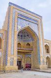The Uzbek architecture Stock Photography