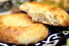 Uzbek bread Stock Image