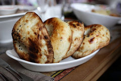 Uzbek bread from tandoor Stock Photo