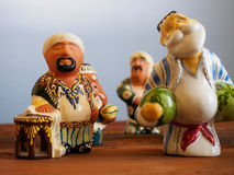 Uzbek ceramic figurine - national souvenir Royalty Free Stock Image