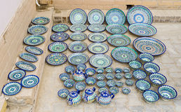 The Uzbek ceramic Stock Images