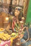 Uzbek costume mannequin Stock Photos