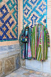 The Uzbek costume Royalty Free Stock Photos