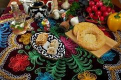 Uzbek cuisine Stock Photo
