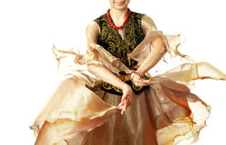 Uzbek dance Royalty Free Stock Photo