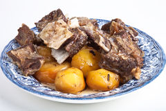 Uzbek dish of meat Royalty Free Stock Image