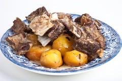 Uzbek dish of meat Royalty Free Stock Image